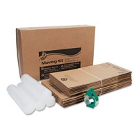 Duck Brand Moving Kit, Includes Bubble Wrap, Boxes and Packing Tape