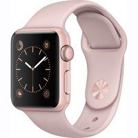 Refurbished Apple Watch Gen 2 Ser. 1 38mm Rose Gold - Pink Sand Sport Band MNNH2LL/A