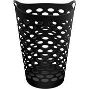 Mainstays Flex Laundry Hamper, Black