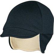 87dbb6febdd Pace Sportswear Reversable Merino Wool Cap  Eggshell Black