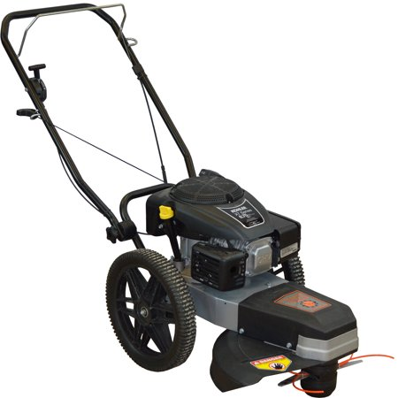 Dirty Hand Tools High Wheel String Trimmer, Kohler Engine Commercial Walk Behind Mower