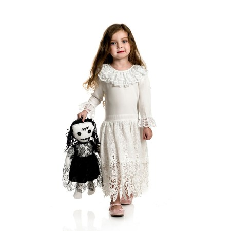 Halloween Little Miss Voodoo Toddler Costume - Little Alchemist Halloween