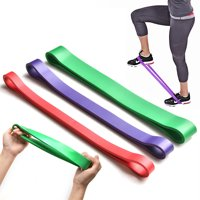 Resistance Loop Bands, Exercise Bands, TSV Set of 3 Premium Home Sport Bands Great for Workout Fitness, Improving Mobility and Strength, Rehab, Pilates and Yoga