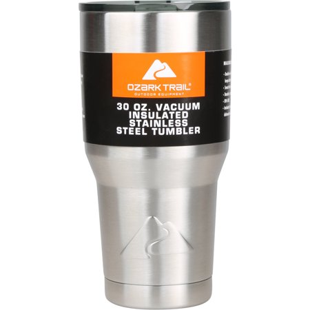 Ozark Trail 30-Ounce Double-Wall, Vacuum-Sealed Tumbler - Personalized Koozie