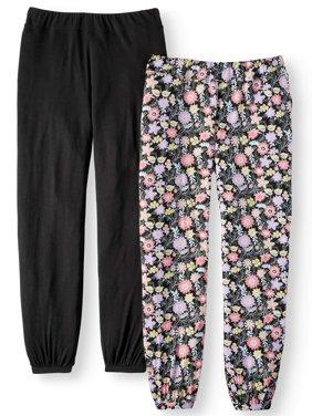 Secret Treasures Essentials Women's and Women's Plus Elastic Band Sleep Pant Pack