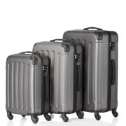 027d577fb29 3Pcs Luggage Set PC+ABS Trolley Spinner 20/24/28 Suitcase Travel Bags