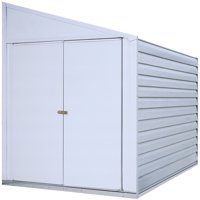 Yardsaver 4 x 7 ft. Steel Storage Shed, Eggshell