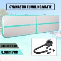 Inflatable Gymnastics Tumbling Mat Air Floor Air Track Training Board