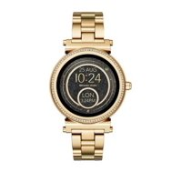 Deals on Michael Kors Sofie Stainless Steel Touchscreen Smartwatch
