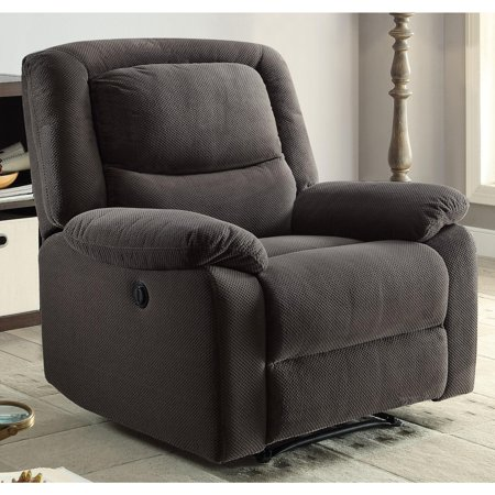 Pride Lift Chairs Recliners (Serta Push-Button Power Recliner with Deep Body Cushions, Ultra Comfortable Reclining Chair, Multiple Colors)