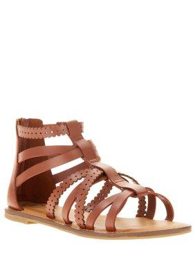 Wonder Nation Girls' Gladiator Sandal