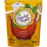 Crystal Light Lemon Iced Tea Drink Mix, 0.266 Oz., 16 Count
