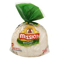 "Mission Homestyle Flour 8"" Soft Taco Size Tortillas, 10 ct"