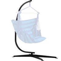 Hammock C Stand Solid Steel Construction For Hammock Air Porch Swing Chair