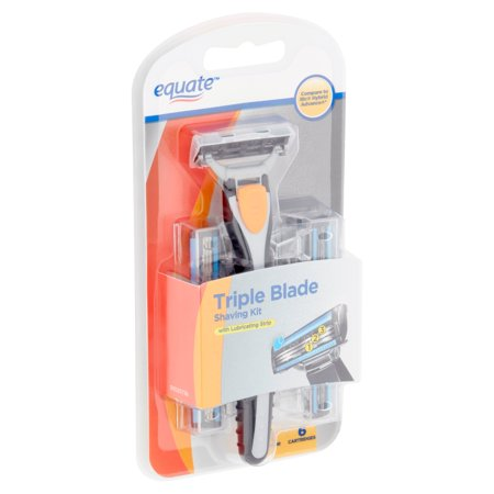 Equate Triple Blade Shaving Kit