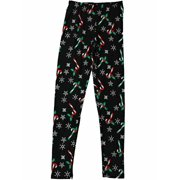 f81654f374b3 Womens Snowflake Candy Cane Holly Berry Christmas Holiday Leggings