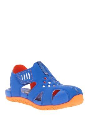 Wonder Nation Toddler Boys' Beach Bump Toe Sandal