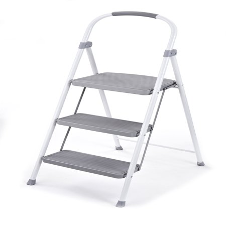 Rubbermaid Rms 3 3 Step Steel Step Stool 225 Pound