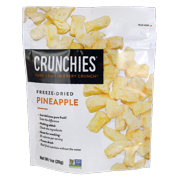 Crunchies Food Company Freeze-Dried Pineapple, 1 oz