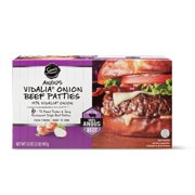 Sam's Choice Angus Vidalia Onion Beef Patties, 6 ct, 2 lb