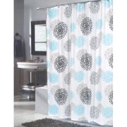 Extra Long Isabella Fabric Shower Curtain