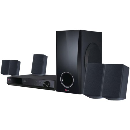 Refurbished LG 5.1 Channel 500W Smart 3D Blu-ray Home Theater System (BH5140S)