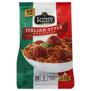 Cooked Perfect® Italian Style Meatballs 26 oz. Bag