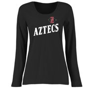 94c14cd5f3be San Diego State Aztecs Women s Plus Sizes Dora Long Sleeve T-Shirt - Black
