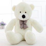 23f8964e878 WOWMAX 6.5 Foot White Giant Huge Teddy Bear Cuddly Stuffed Plush Animals Teddy  Bear Toy Doll