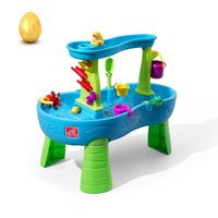 Step2 Kids Play Outdoor Plastic Rain Showers Splash Pond Water Table Playset