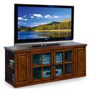 """Leick Home Riley Holliday 62"""" TV Stand w/Storage for TV's up to 65"""", Burnished Oak"""