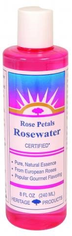 Heritage Rose Petals Rosewater, 8 Fl Oz