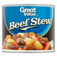 (8 Pack) Great Value Beef Stew, 20 oz