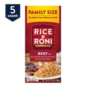 Rice-A-Roni Rice & Vermicelli Mix, Beef, Family Size, 13.6 oz Box