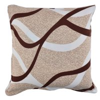 Household Sofa Polyester Square Zipper Pillowcase Cushion Cover 18 x 18 Inches