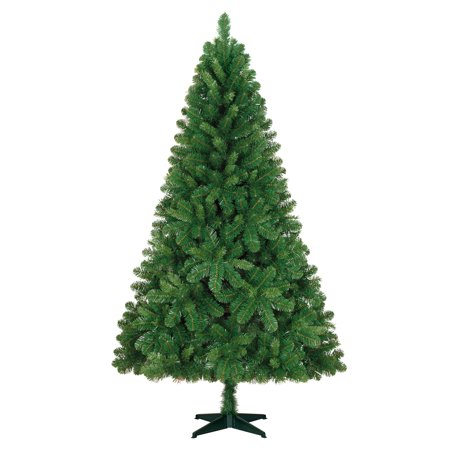 Holiday Time Holiday Time 6 5ft Unlit Jackson Spruce Artificial Christmas Tree Walmart Com