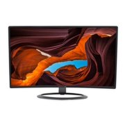 """SCEPTRE 27"""" Curved LED Monitor Full HD 1080P HDMI DisplayPort VGA Speakers, Ultra Thin Brushed Metallic, 1800R immersive curvature"""