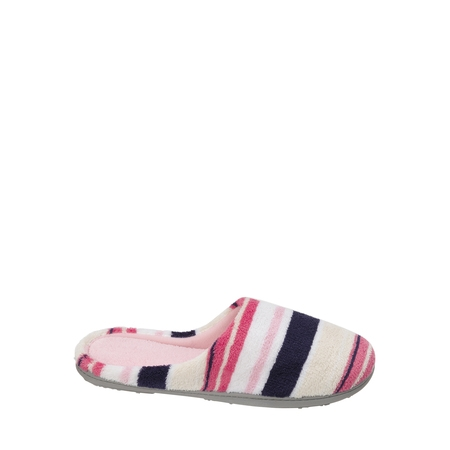 DF by Dearfoams Women's MF Terry Clog Slipper - Wolf Slippers Adults