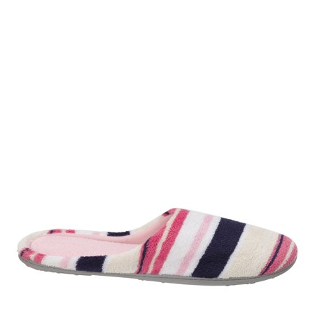 DF by Dearfoams Women's MF Terry Clog Slipper ()