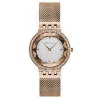 BCBG Maxazria Women's Rose Gold Bracelet Watch