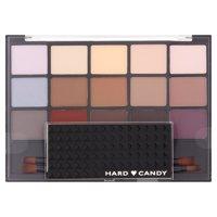 Hard Candy Pro Eyeshadow Palette Artiste Kit, 1256 Pro Palette, 0.69 oz