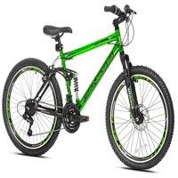 "Genesis 24"" Boy's, Assault Bike, Green, For Ages 8-12"