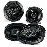 "Kicker for Dodge Ram Truck 1994-2011 speaker bundle - CS 6x9"" coaxial speakers, and CS 5.25"" coaxial speakers."