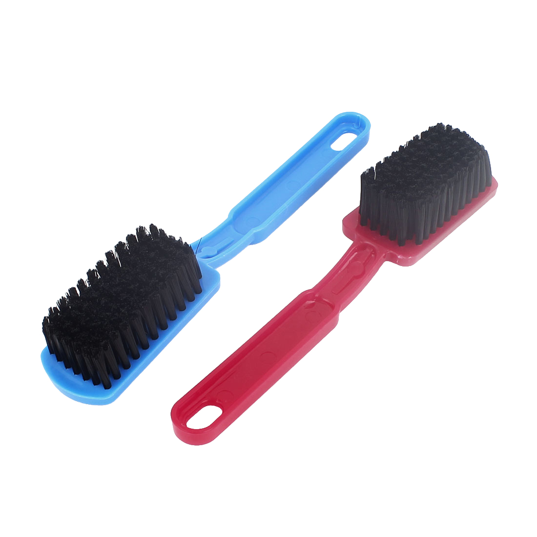 uxcell® Household Plastic Shoe Brushes Cleaning Wash Clothes Hard Brush Multi-function Cleaner Clear Brushes