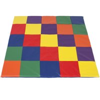 Best Choice Products Kids Soft Foam Cushioned Toddler Play Mat for Home, Activity, Rest - Multicolor