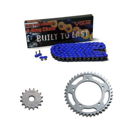 - 1993-1995 Honda CBR900RR O-Ring Chain and Sprocket Kit - Blue