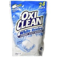 OxiClean White Revive Laundry Stain Remover, 24 Count