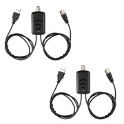 2-pack HDTV Aerial Amplifier Signal Booster TV HDTV Antenna with USB Power Supply Kits