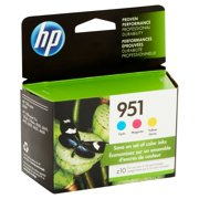 HP 951 Tri-Color Original Ink Cartridges, 3-pack (CR314FN)