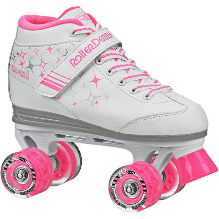 Roller Derby Sparkle Girls\' Outdoor Roller Skates - Lighted Roller Skates